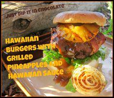 Hawaiian Hamburgers Recipe, with an amazing Aloha Sauce, will take you to an island paradise without the luggage!