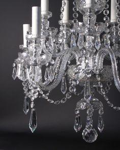 Crystal chandeliers   Antique Crystal Chandelier   Fritz Fryer