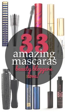 Some great #mascaras with before and after pics for most of them! via @15 Minute Beauty