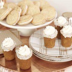 Coffee Liqueur Milkshake Gingerbread Cookie Shots
