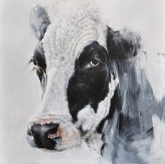Vicky Palmer Rainy Day oil on canvas 31.5 x 31.5 ins (80 x 80 cms) £2,950  #art #artist #painting #painter #farm #farmanimals #hounds #hunting #buyart #interiordesign #countrylife #country #countryside #pigs #dogs #cows #foxandhound
