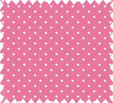 pink spotty fabric