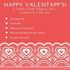 Mobile Marketing Automation | Happy ValentAPP's day! 5 tips to automate the love feast! #CRMfroMobile #MobileMarketingAutomation #MobileMarketing #MarketingAutomation #app #mobile #valentines