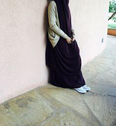 Hijab the happiness of the soul♥️ Hijab Niqab, Muslim Hijab, Hijab Chic, Hijabi Girl, Girl Hijab, Hijab Dress, Hijab Outfit, Muslim Girls, Muslim Women