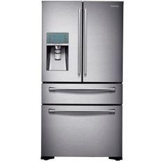 Bon 4 Door French Door Refrigerator In Stainless Steel,