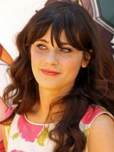 Swag-Frisur: Zooey Deschanel