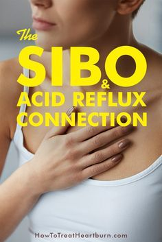 Gas and slowed digestion caused by SIBO causes acid reflux symptoms that can lead to GERD. SIBO treatment can provide relief from acid reflux symptoms like heartburn and serves as an effective remedy for many seeking GERD treatment. Acid Reflux Treatment, Treatment For Heartburn, Acid Reflux Remedies, Natural Remedies For Heartburn, Natural Cures, Natural Health, Natural Treatments, Heartburn Symptoms