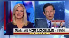 What Did Chris Wallace Think of Trump's Answer on the Election Outcome?