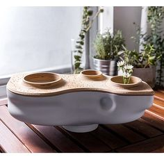 Composting Designed scientifically, this odorless, biomorphic composter turns food scraps into fab fertilizer. - Designed scientifically, this odorless, biomorphic composter turns food scraps into fab fertilizer.