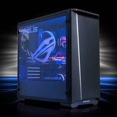 Feeling blue?  from @overclockersuk   #ASUS #ROG #tech #pcgaming #pcbuilds #gamingpc #gaming #watercooled #PC #custompc #pcmasterrace #white #black #red #battlestation #rgb #sli #nvidia #Intel #pcgamer    #Regram via @asus_roguk