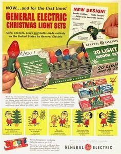 60s Christmas Lights