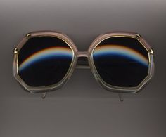 TED LAPIDUS 58-19 POLAROID Gray  Sunglasses Vintage Authentic