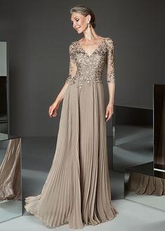 ec7d4cdeade8c Buy discount Amazing Tulle V-neck Neckline A-line Mother Of The Bride  Dresses