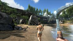Open World Dinosaur Survival Game – ARK:Survival Evolved Game Ark Survival Evolved, Dinosaur Games, Retro Video Games, Unreal Engine, Fishing Villages, My Happy Place, Online Games, Games To Play, Black Friday