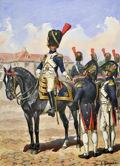 Officer, Grenadiers a Cheval