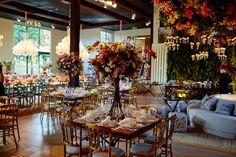 Casamento Rústico-chique - Decoração floral - Crédito: Bruno Stuckert e Plínio…