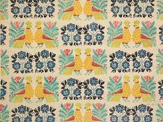 Textile design by Leon Bakst