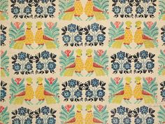 Textile design by Leon Bakst