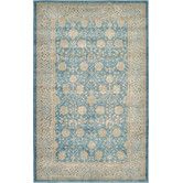 Found it at Wayfair - Salzburg Light Blue Area Rug