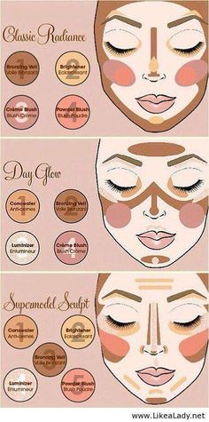 "The number of products you absolutely ""need"" in your makeup arsenal is constantly growing with every new release from hundreds of brands, but what if you don't know what you're doing with the few starter products you already have? These infographics are your perfect guide to mastering your makeup, without needing anything new."