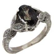 Genuine Alexandrite Ring in 18kt