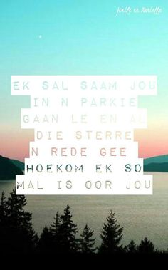 Ek is mal oor jou Quotes For Him, Me Quotes, Qoutes, My Beautiful Daughter, Beautiful Words, What Is Love, My Love, Butterflies In My Stomach, Afrikaanse Quotes