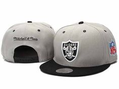 8.00 Mitchell and Ness NFL Oakland Raiders Stitched Snapback Hats 057 4a3ee335f6b