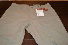 7590-i Mens Tru-Spec Eclipse Pants Tan 100% Nylon Size 38 x 34 New With Tags