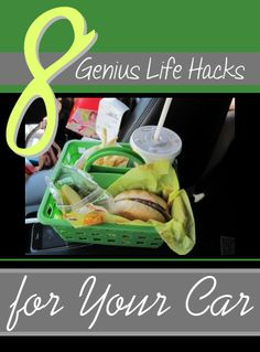 Using a Dollar Tree shower caddy to eat fast food in the car. Future road trips with future kids just got a whole lot more awesome.or use for snacks, picnics, homemade lunches on road trips! Road Trip With Kids, Travel With Kids, Family Travel, Road Trip Hacks, Road Trips, Leelah, Def Not, Car Travel, Travel Tips