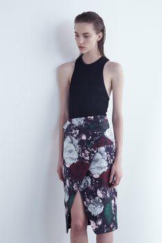 Josh Goot Pre-Fall 2015 #style #fashion #floral
