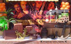 Piratas do Caribe - Muita Festa Decorações