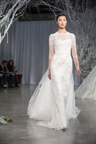 Weddings | All About The GOWN! - Monique Lhuillier Fall 2013 - #weddings #bridal #gowns #designer