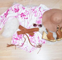 """Shop our """"Floral Romper"""" from Alyannaclothing.com"""