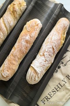 Baguette as it can not be easier - My Torteria - Brot und Brötchen - Bread Homemade Desserts, Healthy Dessert Recipes, Raw Food Recipes, Baking Recipes, Soup Recipes, Cake Recipes, Breakfast Recipes, Dessert Simple, Dessert Blog