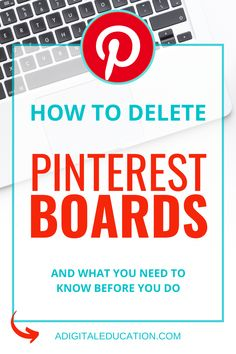 Pinterest Board Names, Pinterest Problems, Delete Pin, Pinterest Tutorial, Fiesta Baby Shower, Computer Help, Technology Hacks, Pinterest For Business, Blogging For Beginners