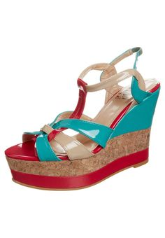 China Girl - POVEDA - Sandaletter - Turkos