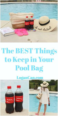 The Best Things to Keep in Your Pool Bag with Ice Cold Coca-Cola #BestSummerMemories #ad