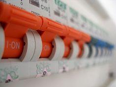 Eletricidade o quadro de distribuição!