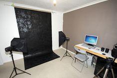 Simple home photo studio