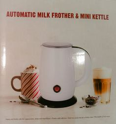 Elegant Automatic Milk #frother Best   Fast 1to4 Cups Use With #espresso #coffee  Machines