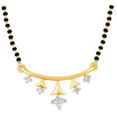 star #diamond #gold #mangalsutra