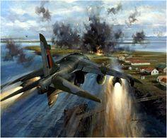 BAe Harrier GR Mk 3 Falklands War (Michael Turner)