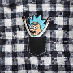 Pocket Rick pin