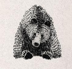 Olga Gamynina —animal illustration