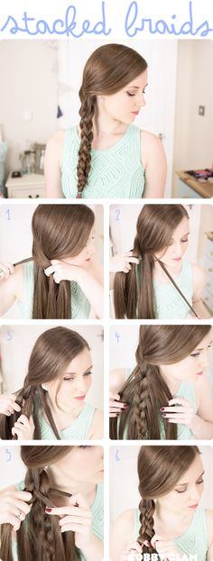 DIY | Stacked Braids Tutorial