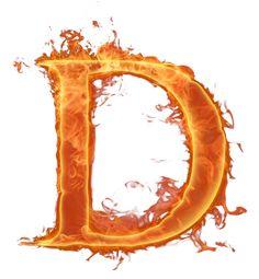 Alfabeto hecho con fuego. | Oh my Alfabetos!