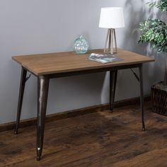 Elmton Foldable Wood Table (Only) by Christopher Knight Home (Mocha (Brown))