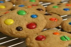 Homemade MnM cookies....clearly I was in the mood to bake today. Just made these!
