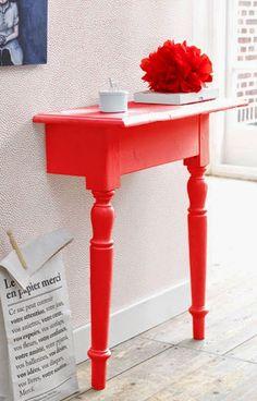 Tu Organizas.: Se não cabe a mesa inteira, decore com a metade.