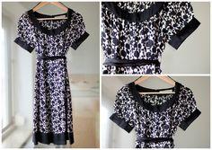 ZARA Basic Kleid, Größe S (UK 8 / EU 36)